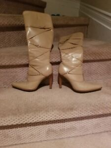 Women's Leather Dress Boots Size 7