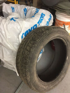 Pneus d'hivers Michelin 235/55R19