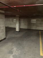 Sublease a Parking in Downtown Montreal