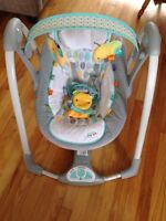 TAGGIES battery operated portable swing
