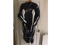 Alpinestars 1 piece leathers challenger £600 new!