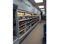7.5m display fridge chiller cabinet