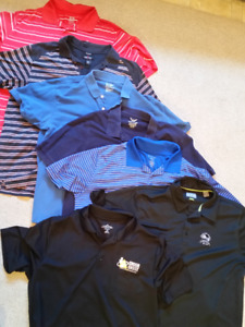 Lot of 7 Men's golf shirts. XL