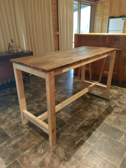 Kitchen bench island, bar, cafe table, work bench   Other ...