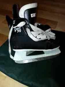 CCM boys ice skates size 12