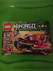 Lego BNISB 9441 Kai's Blade Cycle  Rare and Retired