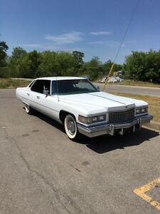 1975 Cadillac Sedan Deville ! Great summer car !