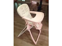 Cosatto high chair 'on the move' folding