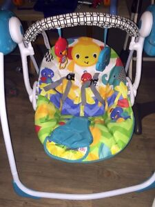 Bright Starts Foldable Baby Swing
