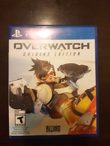 Overwatch for PS4 - Mint Condition