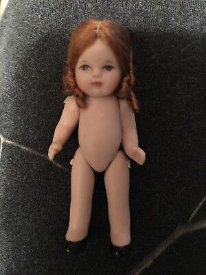 ALL BISQUE CATHY HANSEN MINIATURE DOLL-3 IN. TALL-WONDERFUL FEATURES