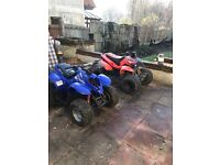 2 cobra 110 quads for sale spares or repair