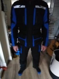 Hein Gericke Gortex jacket and trousers