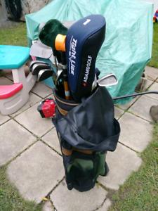 Ensemble bâtons golf droitier