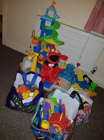 Huge lot of toys for sale, age 0-3