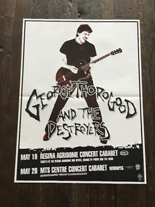 George Thorogood Original Box Office Concert Poster