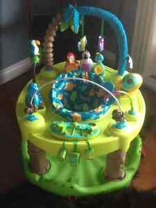 Two (2) Triple fun exersaucer