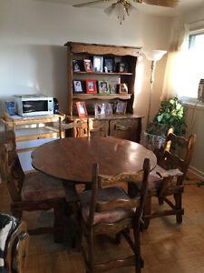 Meubles chêne à vendre - Salon, salle à dîner et chambre