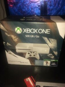 xbox one 500 gb + brand new + game