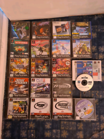 Ps1 games all different prices /Scart to 3 Phono Socket Adaptors