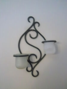 Partylite wall sconce