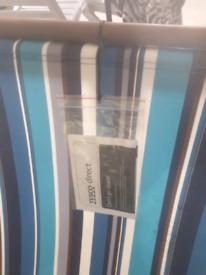 Blue stripe deckchair