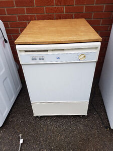 Portable dishwasher 100.00 and 10,000 BTU air conditioner 150.00
