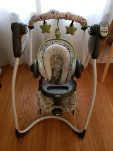 Graco Duo 2 in 1 Swing and Bouncer in EUC