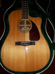 Fender CD220SCE Acoustic Electric guitar with Case