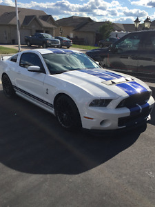2013 SHELBY GT 500 SVT TRACK PACK/PERF PACK