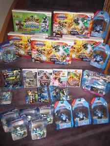Wii Games - New in sealed boxes (some in store-opened boxes)