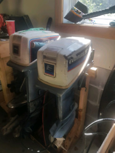 Evinrude 9.9 and 15