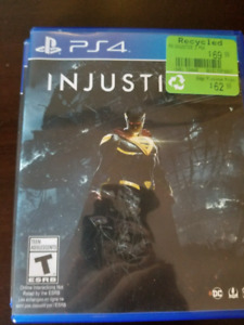 Injustice 2 for playstation 4, perfect condition.