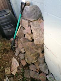 Assortment of rockery stones for sale