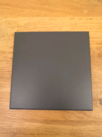 BLACK QUARRY TILES - 15X15CM - 58 PCS