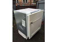 NEFF integrated under-counter fridge and Zanussi freezer