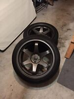 Fast Hayaku 19x10.5 5x114.3 only two