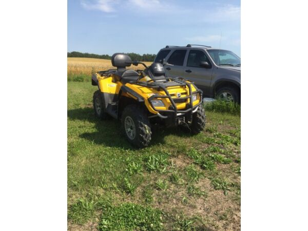 Used 2007 BRP outlander 800 max