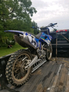 2002 yz250f parts