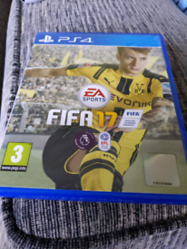 Dirt rally and FIFA 17 ps4