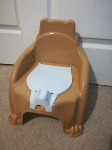 Clean brown potty