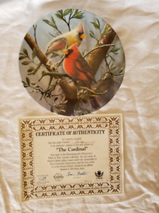 Kevin Daniels Collector Plate - The Cardinal