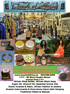 Holiday Sales.Traditional African Chief Chair,Table,Baskets  etc