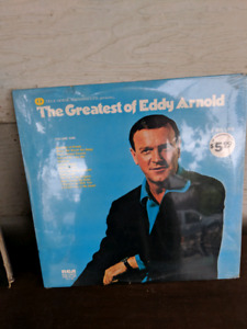 Unopened double Eddy Arnold record