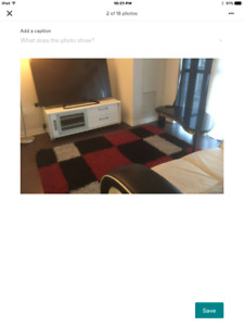 A beautifully furnished bedroom in Downtown Toronto