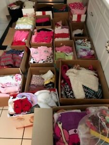 Everything for a girl from newborn to 2 years old
