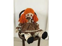 Vintage rag cloth doll