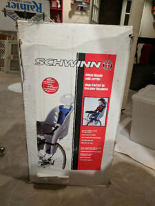 Schwinn bicycle carrier seat for child