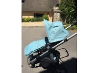 iCandy Apple2Pear stroller with footmuff