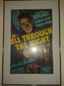 Humphrey Bogart Cinema posters